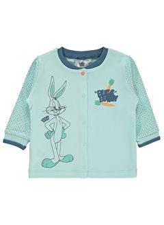 BUGS BUNNY Bugs Bunny Kız Bebek Hırka 3-12 Ay Pembe Bugs Bunny Kız Bebek Hırka 3-12 Ay Pembe